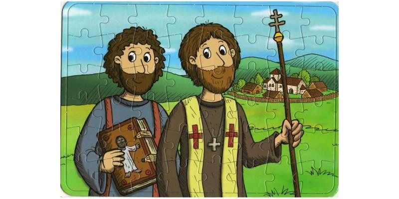 Puzzle Cyril a Metoděj
